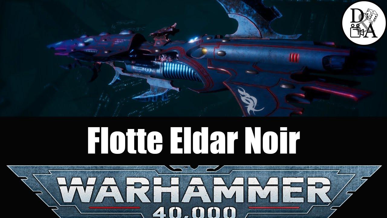 Lore Warhammer 40k [FR] : Flotte Eldar Noir (Drukharis)   D&A