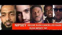 Nipsey Hussle Reggie Bush Fundraise Cancelled , Kodak Black says he wasn't stomped, RUSS TAT?