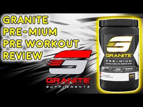 Granite Pre-Mium Pre Workout Review