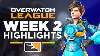 BEST OVERWATCH LEAGUE PLAYS - WEEK 2 HIGHLIGHTS