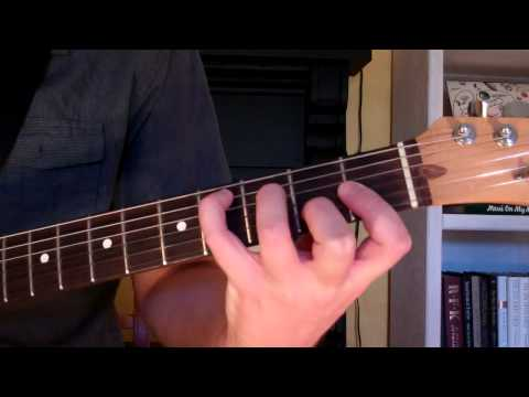 How To Play the C# Chord On Guitar (C sharp major)