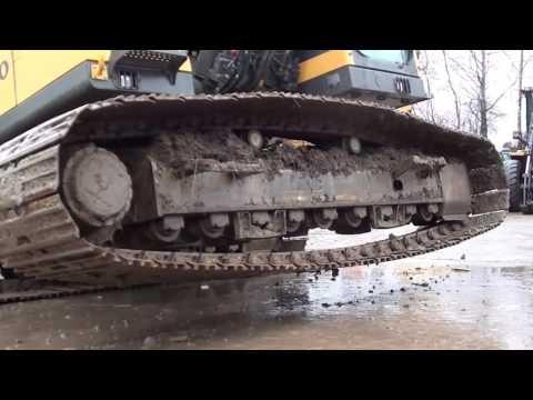Диагностика гусеничного экскаватора  Volvo ЕС240