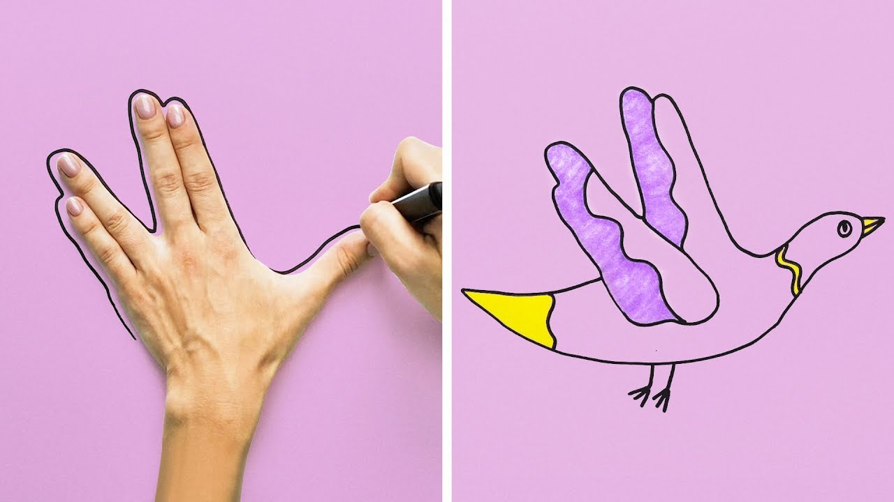 10 GREAT DRAWING IDEAS WHEN YOU ARE BORING