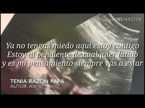 Tenía Razón Papá (Letra)/Abraham Vázquez/2019