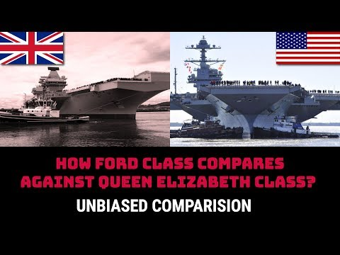 HOW FORD CLASS COMPARES AGAINST QUEEN ELIZABETH CLASS?