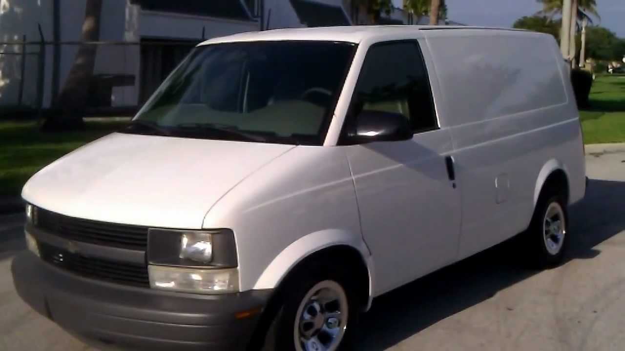 FOR SALE 2002 Chevy Astro Cargo Van www.southeastcarsales ...
