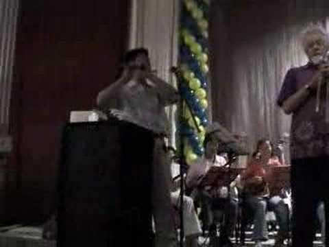Roswell Rudd & Ensemble Baikal - Rehearsal