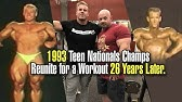 JAY CUTLER &amp BRANCH WARREN REUNITE FOR A WORKOUT 26 YEARS AFTER THE TEEN NATIONALS.