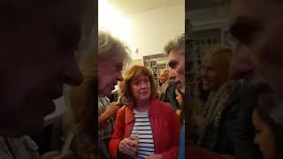 "BOB GELDOF MEET AND GREET  ""READS FROM THE POEMS AND LETTERS OF JOHN KEATS"""