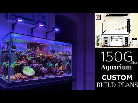 Reef Tank Update -  New 150 Gallon Aquarium Build Plans!