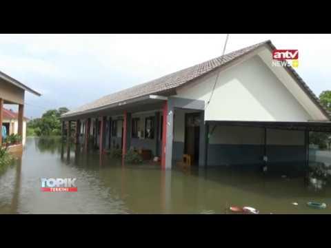 Sman 15 Kota Tangerang Terendam Banjir Sekolah Diliburkan Youtube