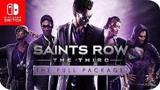 Saints Row The Third - The Full Package (Nintendo Switch) El Sandbox más Gamberro 😜