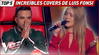 The BEST COVERS of LUIS FONSI in La Voz