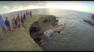 Cliff Jumping Fails Compilation Part 4