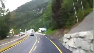 Traversée du tunnel du Mont Blanc