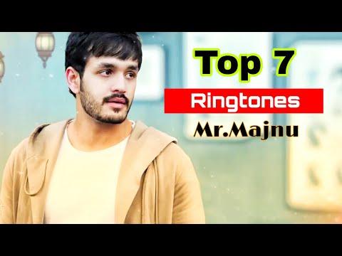 Top 7 Ringtones Of Movie Mr.Majnu