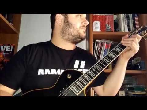 Rammstein - Sonne (guitar cover)