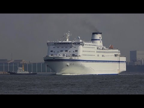"Taiheiyo Ferry ""きそ KISO"" Nagoya Port"