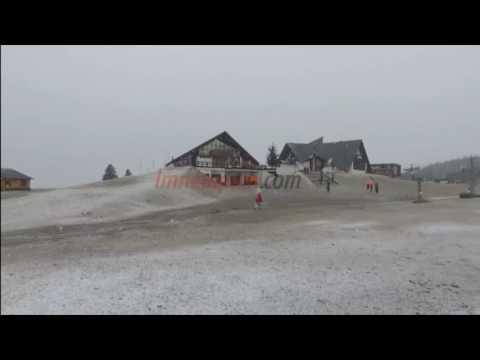 Llegó la nieve a los principales centro de esquí y trajo un poco de alivio para la temporada
