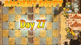 Plants vs. Zombies 2 - Ancient Egypt: Day 27 Walkthrough