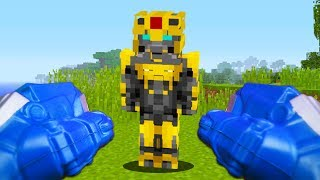 REALISTIC TRANSFORMERS - Becoming Optimus Prime! (Realistic Minecraft)