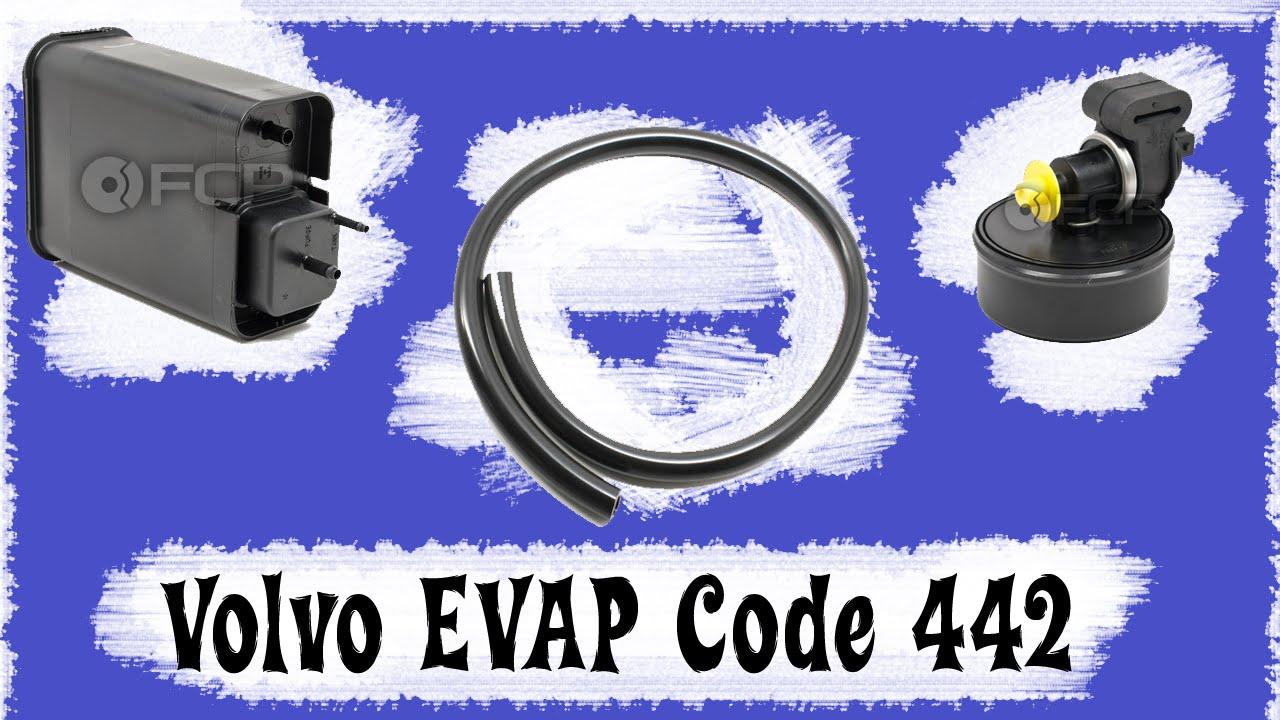 VOLVO c70 s70 v70 xc Emissons EVAP Code 442 | Hidden Canister Hose Under Fender Fix - YouTube
