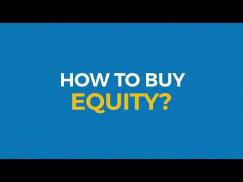 Trading platform for equity shares