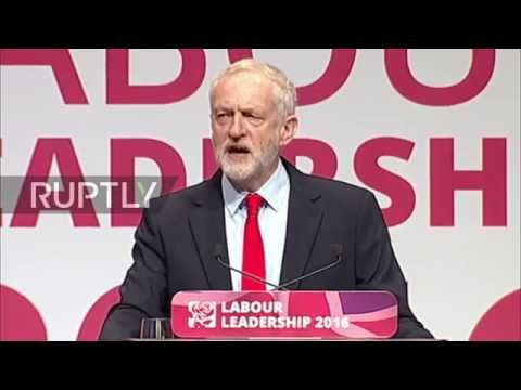 UK: Corbyn re-elected leader of UK Labour Party by landslide