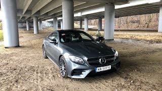 Mercedes E53 AMG 4Matic+ Coupe test PL Pertyn Ględzi