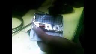 cara menganti LCD  sony experia