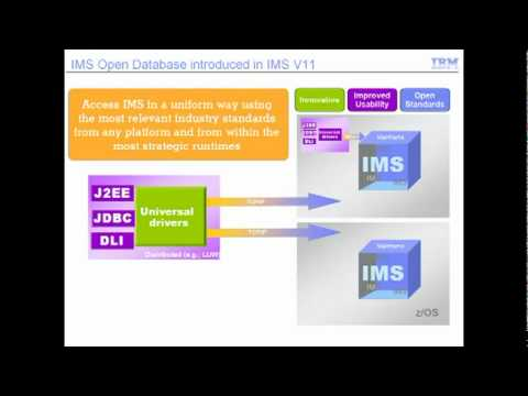 IMS V11 Open Database (in A Nutshell)