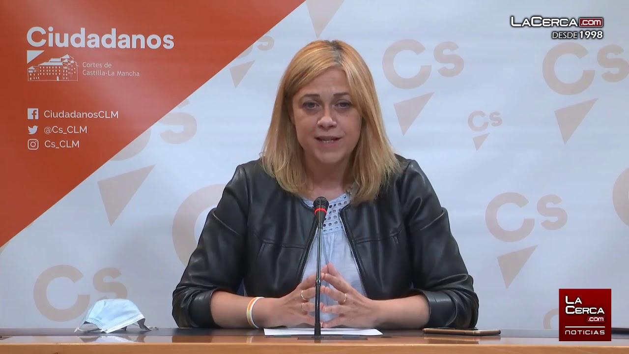 Carmen Picazo - Portavoz Cs en las Cortes de CLM - Rueda prensa on line - 14-07-20