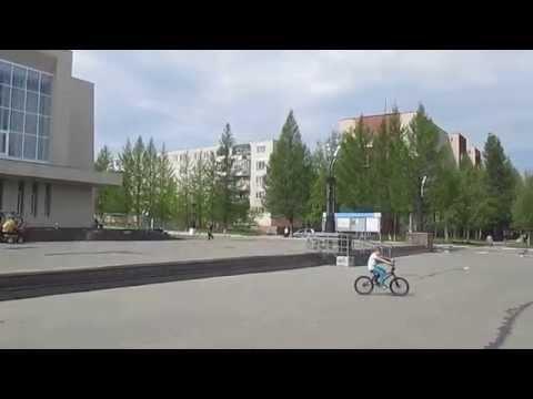 Панорама центральной площади в ПЗ