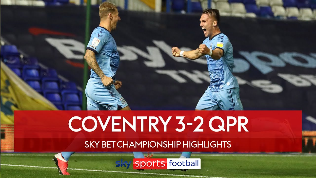 Coventry beat QPR in five goal thriller! | Coventry 3-2 QPR | Championship Highlights