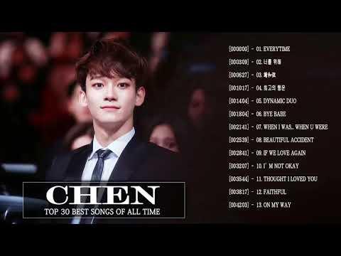 Best Of Chen Songs - 첸  최신 인기가요 노래모음 연속듣기 [뮤맵]