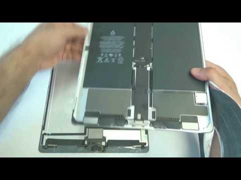 """iPad Pro 12.9"""" Digitizer LCD Daughterboard Touch Screen Glass Assembly Removal and Reinstallation"""