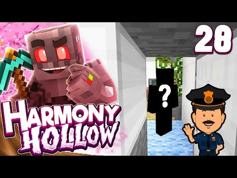 Minecraft Harmony Hollow Modded SMP Episode 28: Sketchy Visitation