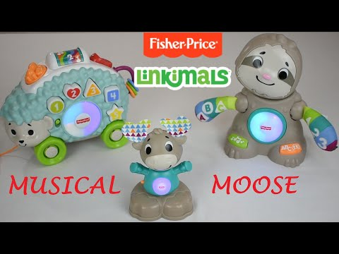 Linkimals Musical Moose From Fisher Price DEMONSTRATION