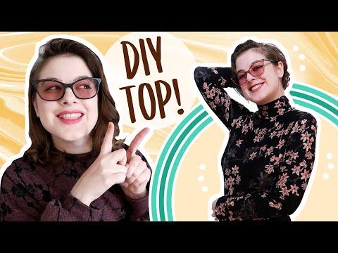 DIY Turtleneck Top (Basic) 🐢 - YouTube