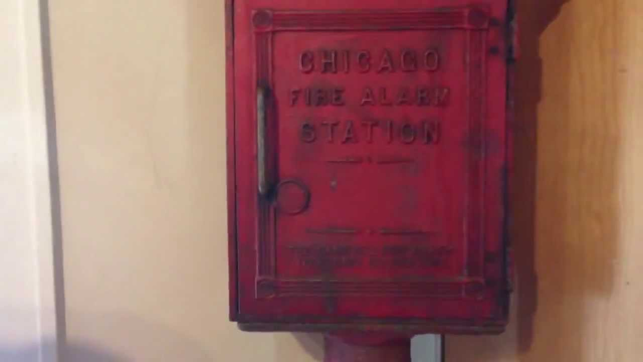 Chicago Fire Alarm Telegraph Station Box Wanted Chicago