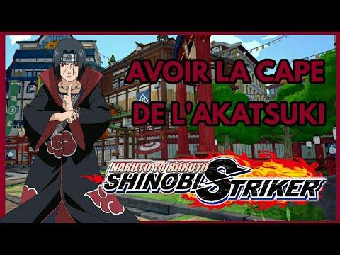 remise chaude très convoité gamme de bons plans sur la mode COMMENT AVOIR LA CAPE DE L'AKATSUKI | Naruto To Boruto Shinobi Striker