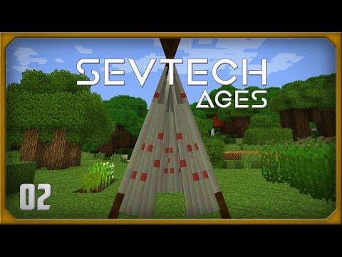 SevTech Ages EP2 Tipi + Antique Atlas