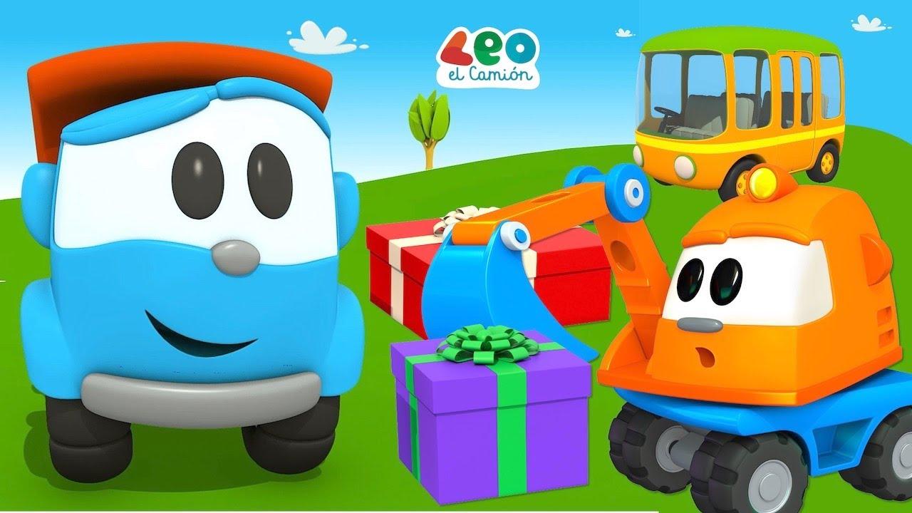 Leo el Camión - Colores en español - Videos educativos para niños (Capítulos y Canciones)