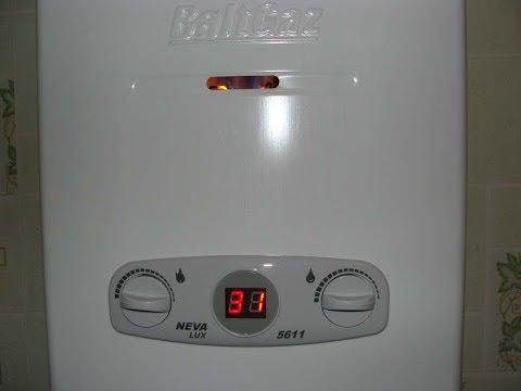 Газовая калонка NEVA 5611обзор замена батареек
