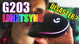 Logitech G203 LightSync Mouse Review - An Ergonomic Disaster? ($40 Gaming Mouse)
