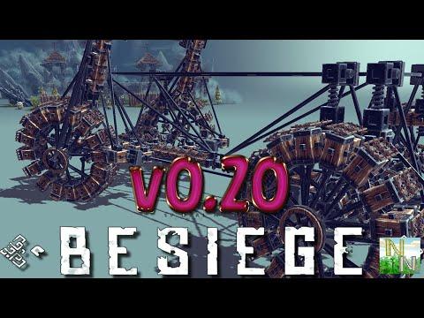 Besiege v0.20 повышение ФПС, новые блоки и улучшения.