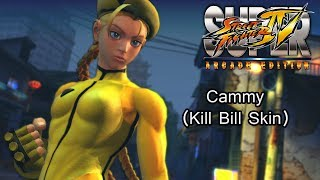 Cammy Kill Bill Skin (Super Street Fighter IV: Arcade Edition)