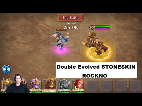 RockNO Tanking Archdemon How Long Can He Survive Castle Clash