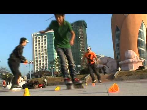 Phan 1 - The first inline skate group in Nha Trang city