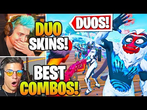 Streamers Host FUNNIEST Duo SKIN & EMOTE Contest! (Fortnite)